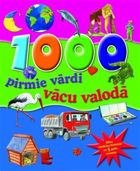 Zvaigzne ABC - 1000 pirmie vārdi vācu valodā