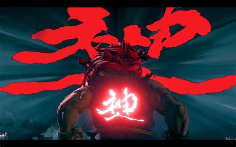 Street Fighter V Akuma Character Breakdown Trailer