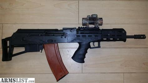 Ak 74 Bullpup With Ammo