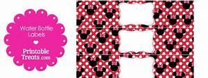 printable minnie mouse water bottle labels printable With free printable minnie mouse water bottle labels