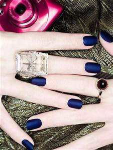 Navy nail polish, Matte nail polish and Polish on Pinterest