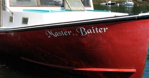 Boat Names With Red by 31 Funny Boat Names Funny Gallery Ebaum S World