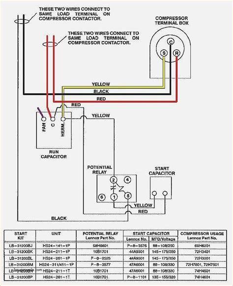 wiring diagram  ac unit elegant goodman condenser