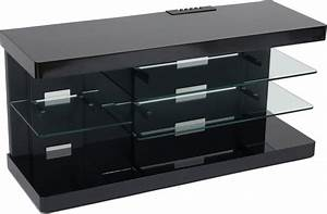 Meuble Tv Au Mur : meuble tv design a accrocher au mur ~ Teatrodelosmanantiales.com Idées de Décoration