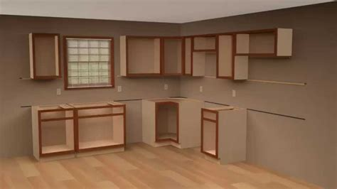 how do i install kitchen cabinets 2 cliqstudios kitchen cabinet installation guide chapter 8432