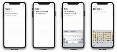 Swiftui App Examples Github Example Projects Todo
