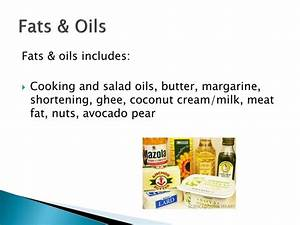 Fats And Oils Food Group Examples | www.pixshark.com ...