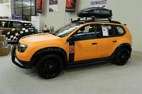 Renault Duster Modification by Dacia Duster Received 2 New Modification Programs From Eila