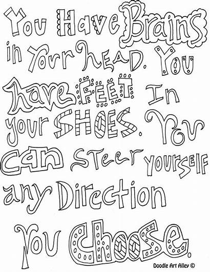 Quotes Printable Emily Coloring Pages Quote Inspirational