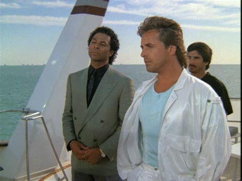 crockett tubbs on a kingpins yacht miami vice det quot sonny quot crockett