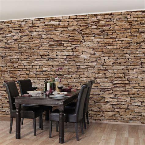 steinwand wohnzimmer material bilderwelten vliestapete steinoptik premium breit 187 crete