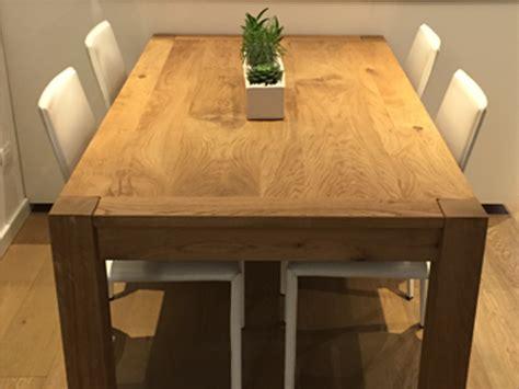 tavolo rovere tavolo allungabile in rovere artigiana arredamenti