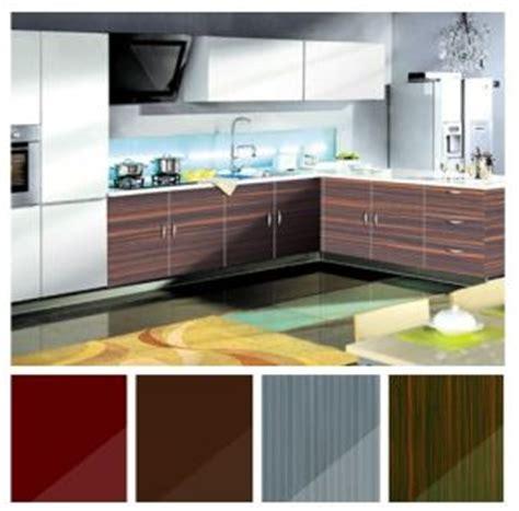 china fiber glossy acrylic laminate kitchen cabinets