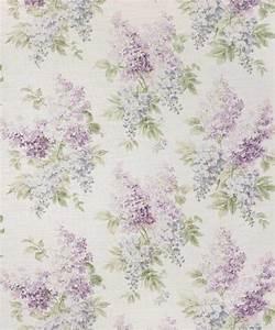Buy Bennison Lilac Fabric online Alexander Interiors