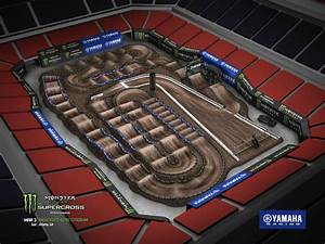Anaheim Stadium Seating Chart For Supercross 2018 Track Maps Supercross Live
