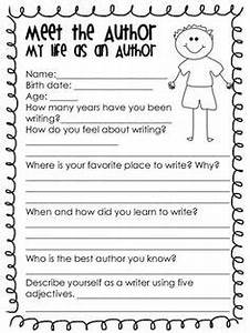 1000 images about for the classroom on pinterest With about the author template