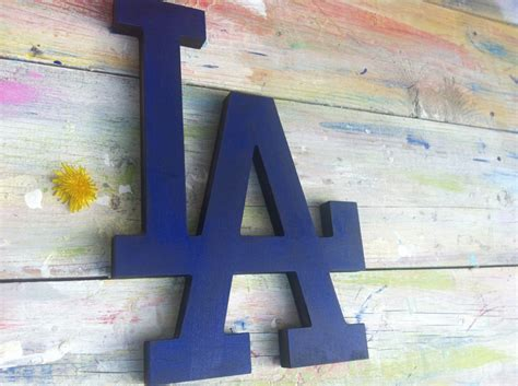 Hanging Decorations - sport baseball decor los angeles dodgers sign wall