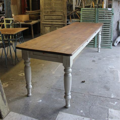 victorian pine dining table ft    tables