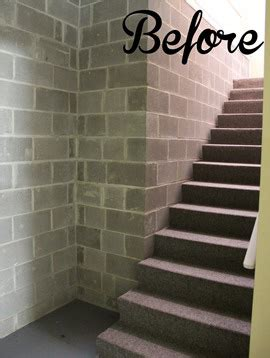 update  basement staircase  paint hometalk