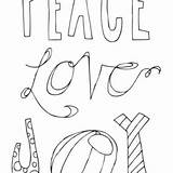 Coloring Joy Peace Pages Christmas Printable Poster Word Printables Merry Tipjunkie Activity Cards Template Decor Adult Crafts Holiday Perfect sketch template
