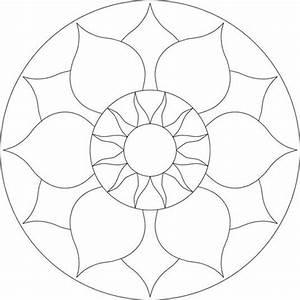 Chakra mosaic pattern by brett campbell mosaics535 x 535 for Designs for mosaics templates