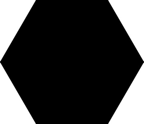 black hexagon black hexagon clip art at clker com vector clip art online royalty free public domain