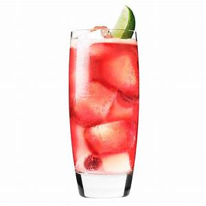 Strawberry Cranberry Mule Cocktail Recipe