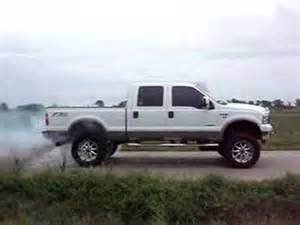 ford atlas truck 2006 lifted ford f 250 burnout with 6 gun