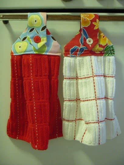Kitchen Towels That Hang 17 best images about diy kitchen towel on a