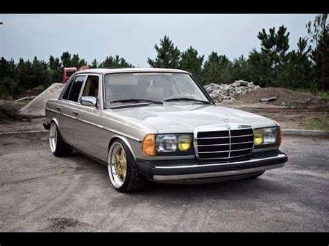 Mercedes Benz w123 Tuning (WOW) - YouTube