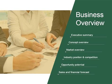 Business Overview Presentation Background Images ...