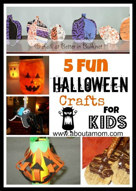 5 Fun Halloween Crafts For Kids
