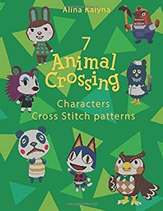 animal crossing characters cross stitch patterns