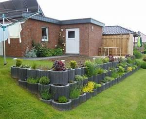 Garten Bepflanzen Ideen : terrasse im garten anlegen new garten ideen ~ Lizthompson.info Haus und Dekorationen