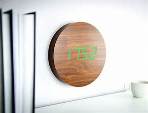 Responsive Digital Wall Clocks : digital wall clock