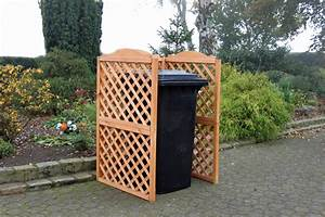 Holz Sichtschutz Für Garten : holz sichtschutz promadino rex m lltonnenverkleidung f r 1 tonne vom garten fachh ndler ~ Sanjose-hotels-ca.com Haus und Dekorationen