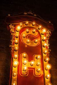 Light Up Theater Sign 9 Foot Chicago Theater Light Up Sign Chris Knight Creations
