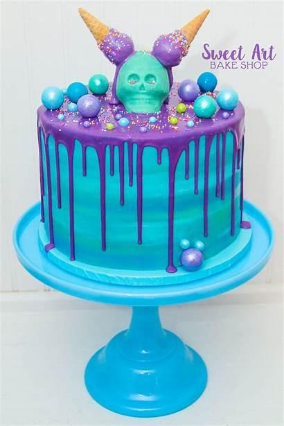 Drip Cake Cream Ice Cakes Cone Skelaton