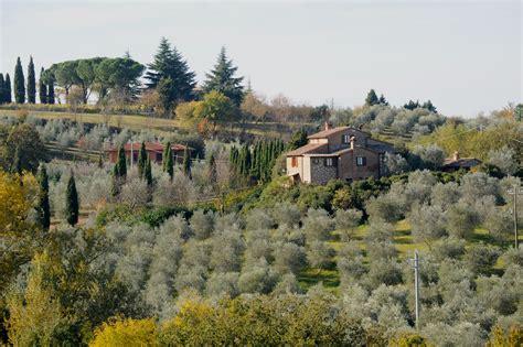 views pienza tuscany italy