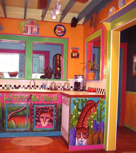 colorful kitchens ideas painted kitchen cabinets style