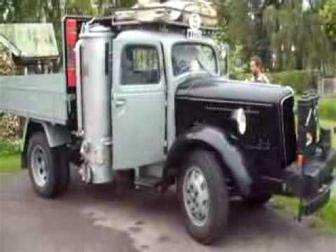 wood gas truck youtube