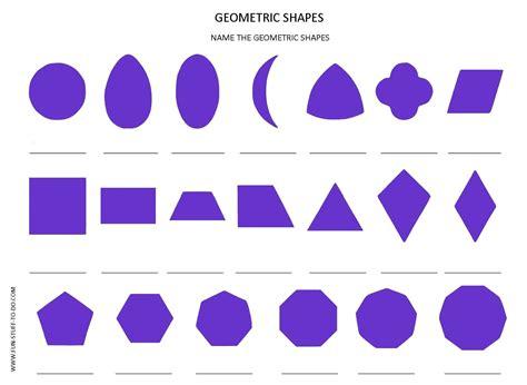 geometric shapes worksheets free to print
