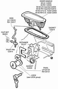 Door Handle Assembly - Diagram View