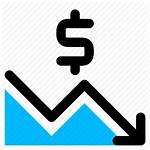 Icon Lose Finance Chart Icons Business Editor