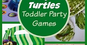 Ninja Turtle Party Games For Toddlers- My Kids Guide ...