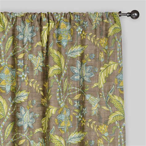 world market curtains floral tamara curtains set of 2 world market