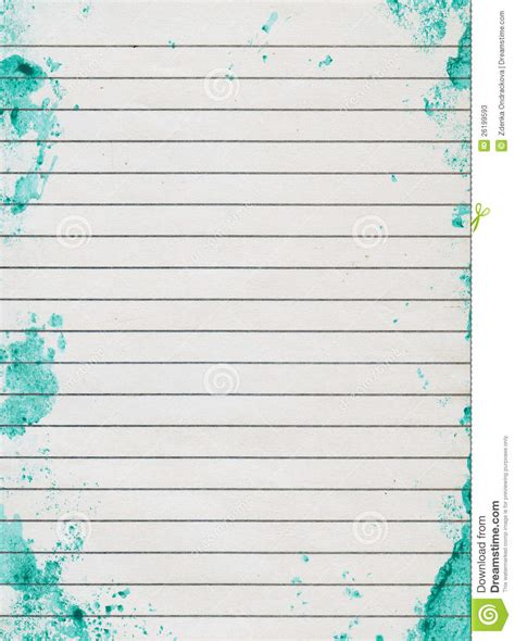 grunge lined paper stock  image