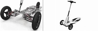 Transboard Electric Scooter Casting Cnc Aluminum Kickstarter