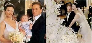 Catherine-Zeta Jones and Michael Douglas' children