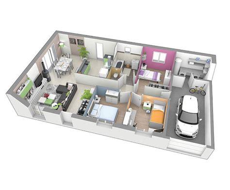 prix maison plain pied 4 chambres maison à étage design t5 à ambert